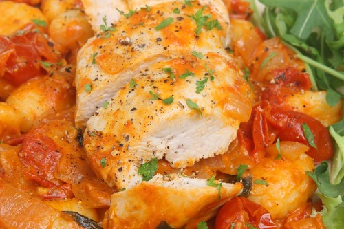 Tuesday - Sept 22 - Sundry Tomato & Pepperoni Chicken Breast