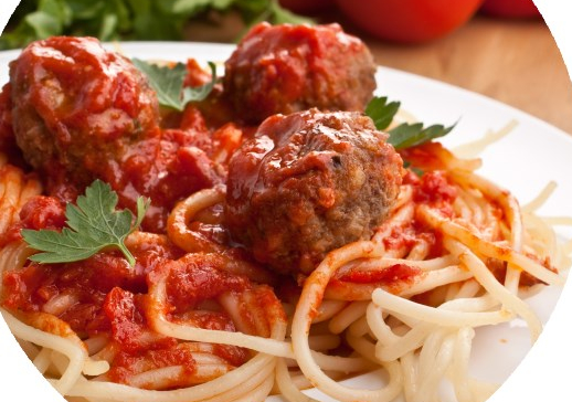 Tuesday - July 14 - House Meatballs and Spaghetti